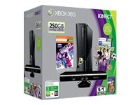 Microsoft Xbox 360 S Kinect (250GB) Holiday Bundle (Dance Central 2)