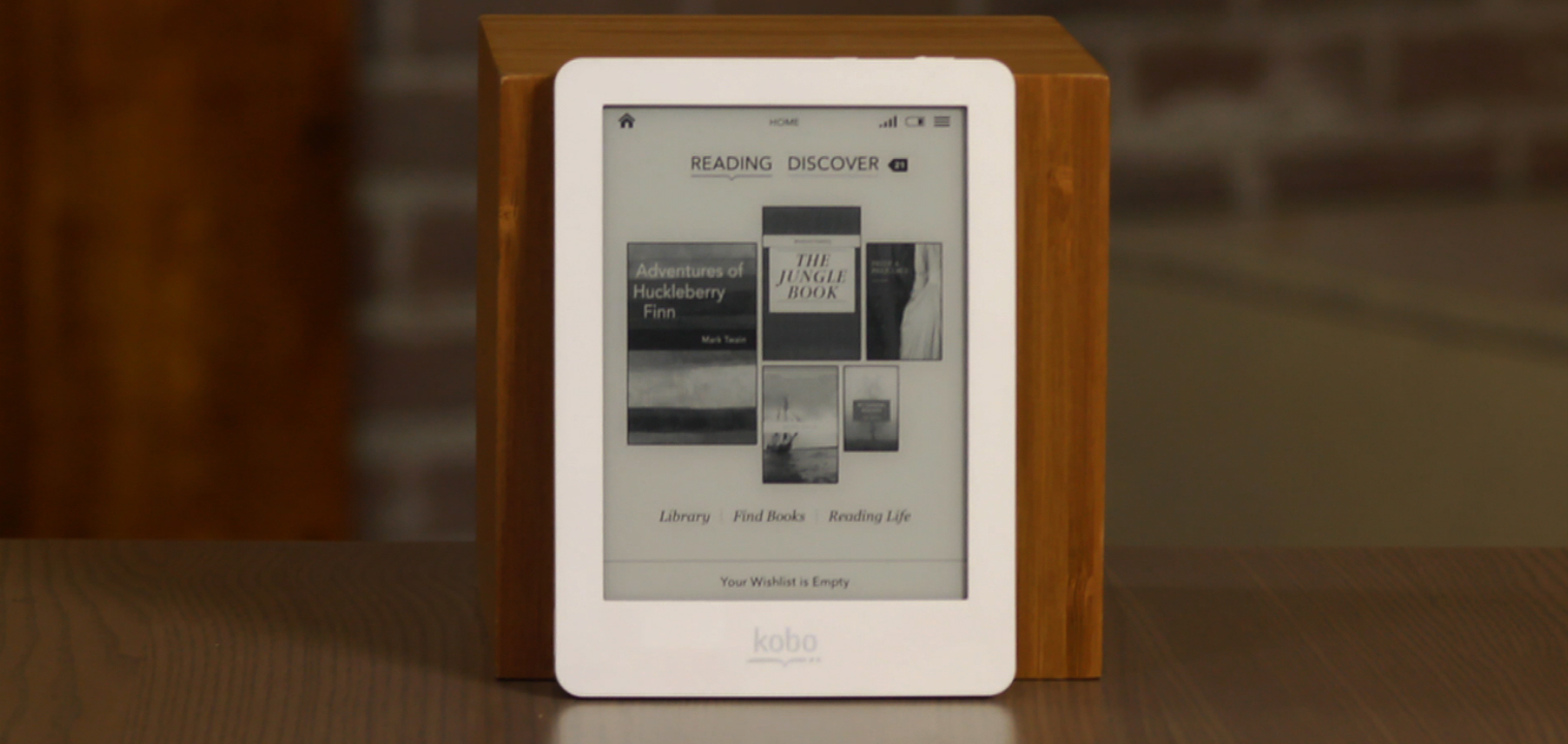 Video: Kobo's surprisingly good $129 self-illuminated e-book reader