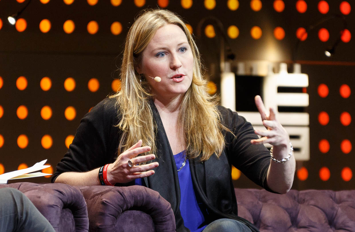 Indiegogo co-founder Danae Ringelmann speaking at LeWeb 2012.