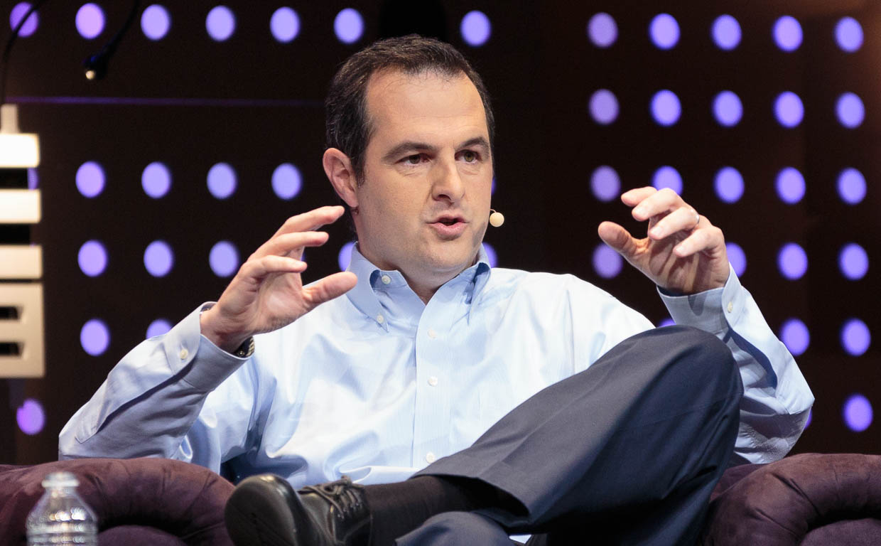 Lending Club CEO Renaud Laplanche speaking at LeWeb 2012.