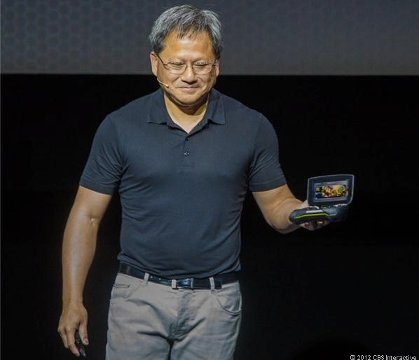 Nvidia CEO Jen-Hsun Huang unveils Nvidia Shield, a brand-new gaming device that leverages Android and the Tegra 4 quad-core processor.