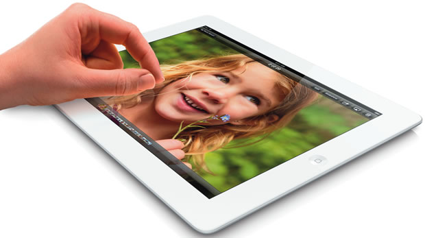 Apple's 4th-generation iPad.