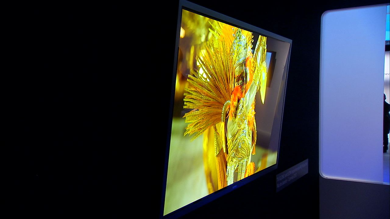 A look at the exciting new technology of Sony's 4K OLED TV