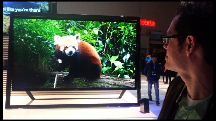 Video: Samsung 110-inch 4K UHD TV