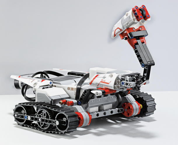 Lego gets more robotic