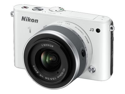 Nikon 1 J3 (with 10-30mm lens, White)