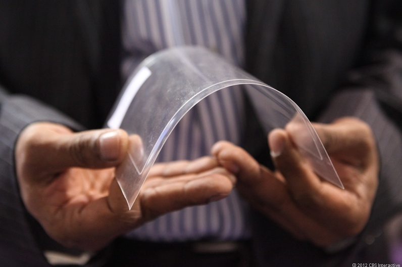 Corning's flexible Willow Glass