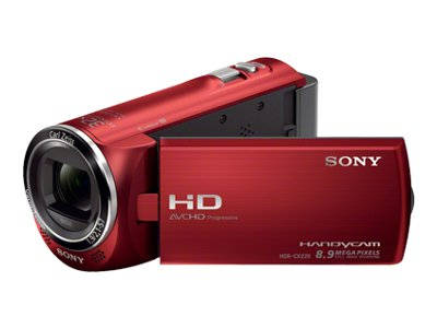 Sony Handycam HDR-CX220 (Red)