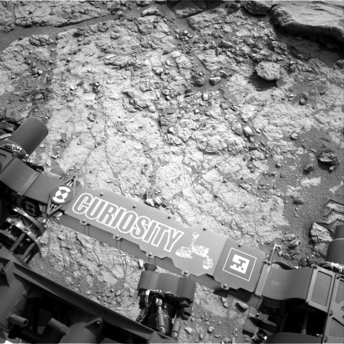 Curiosity prepares to drill