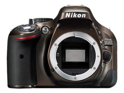 Nikon D5200 (Body Only, Bronze)