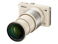 Nikon 1 J3 (with 10-100mm Lens, Beige)