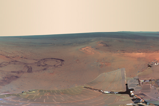 Greeley Panorama from Opportunity's fifth Martian winter