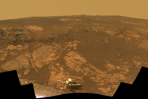 Opportunity's panoramic views of Mars