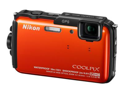 Nikon Coolpix AW110 (Orange)