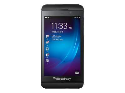 BlackBerry Z10 - BlackBerry smartphone - GSM / UMTS