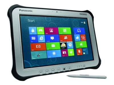 "Panasonic Toughpad FZ-G1 - 10.1"" - Core i5 3437U - Windows 8 Pro 64-bit - 4 GB RAM - 128 GB SSD"