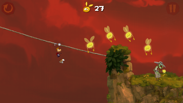 Rayman Jungle Run (iOS)
