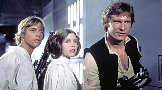 Luke, Leia, and Han
