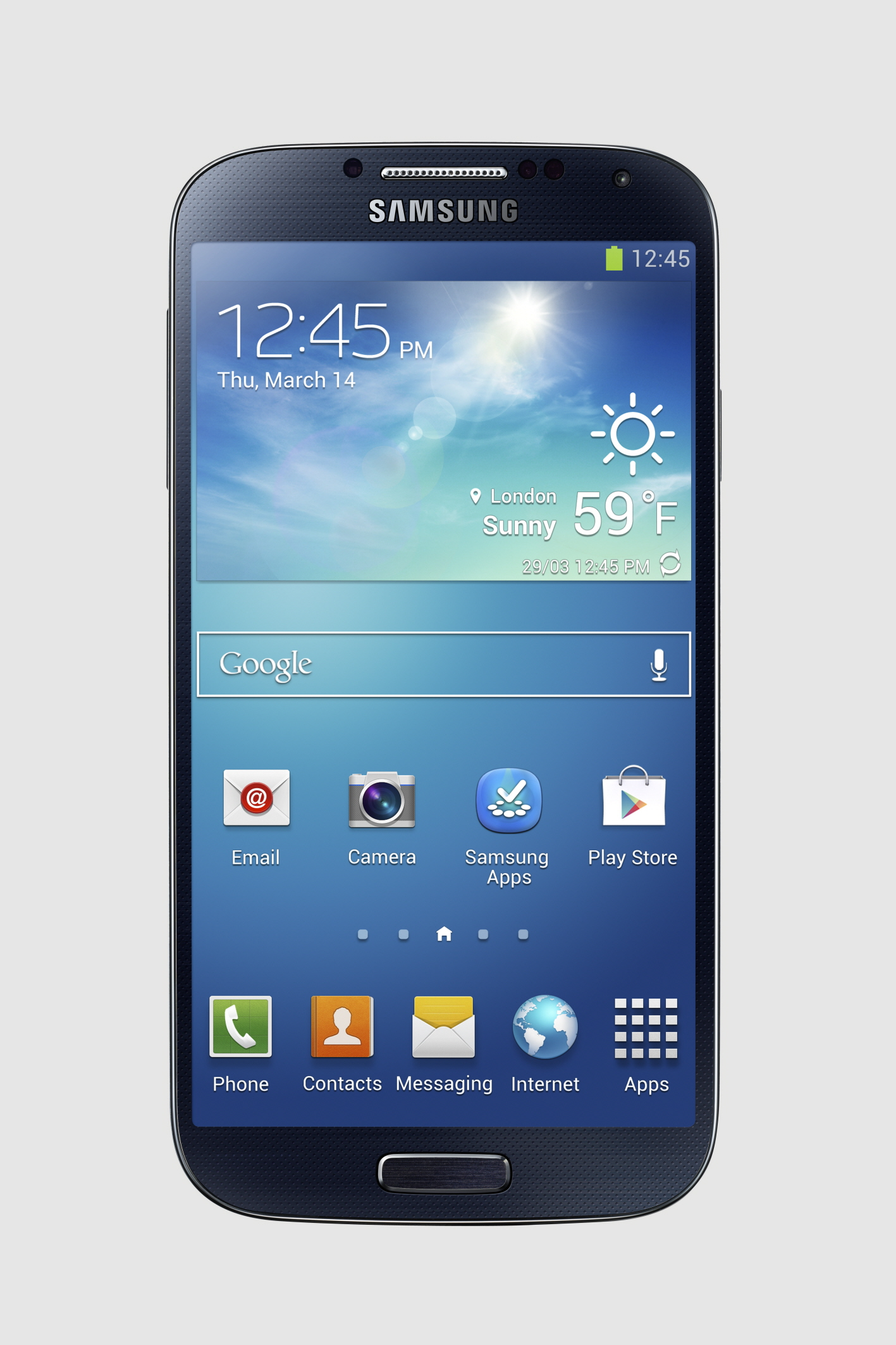 The Galaxy S4 (click to enlarge)