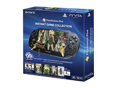 Sony PlayStation Vita (3G) Instant Game Collection Bundle