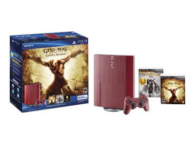 Sony PlayStation 3 Super Slim (500GB) God of War: Ascension Legacy Bundle