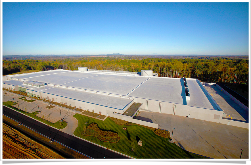 Apple's data center in Maiden, North Carolina.