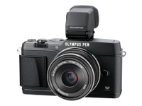 Olympus PEN E-P5 (with 17mm lens and viewfinder, Black)
