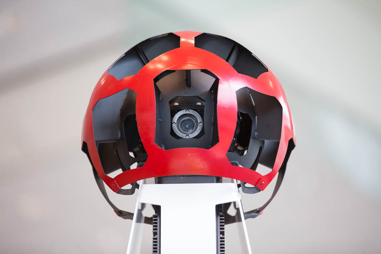 "The Street View camera pod on each car has multiple cameras gazing at the world. Google showed the Street View technology at its <a href=""http://news.cnet.com/google-io/"">Google I/O 2013 show</a> developer in San Francisco."