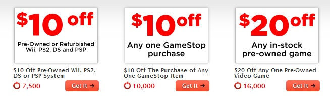 When you trade in your old games at GameStop, you'll earn store credit towards the purchase of new games and more. You'll also get exclusive trade-in offers for things like $25 extra credit or 25% more credit when you trade in specific items.