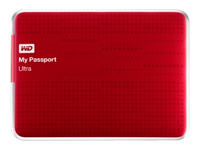 WD My Passport Ultra (500GB, Red)