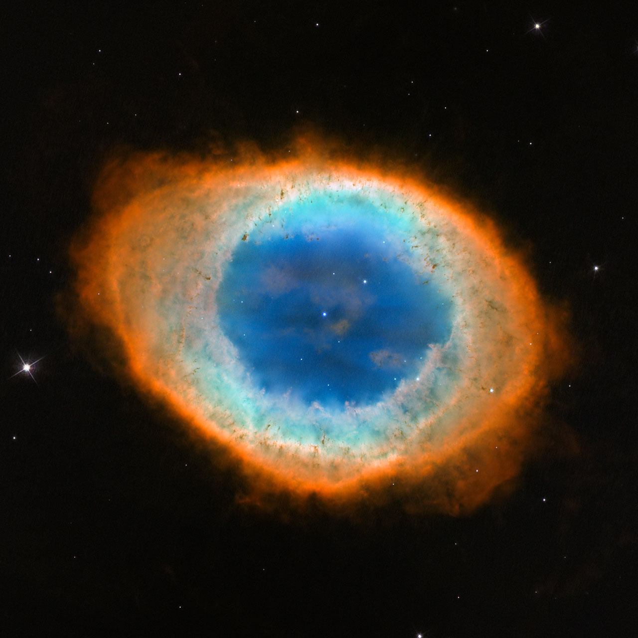 Hubble image of the Ring Nebula