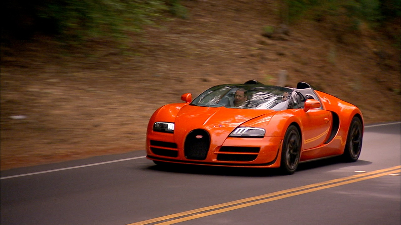 Episode 19, Bugatti Veyron Grand Sport Vitesse: Priciest car we've ever driven.