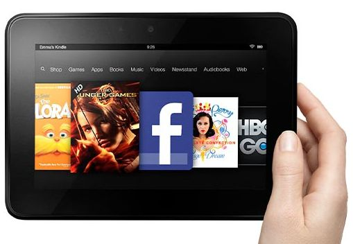 What dad wouldn't dig a Kindle Fire HD? And what son or daughter wouldn't dig saving $20 on it?