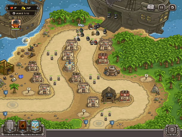 Kingdom Rush Frontiers HD (iOS)