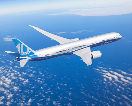 Boeing to build 787-10