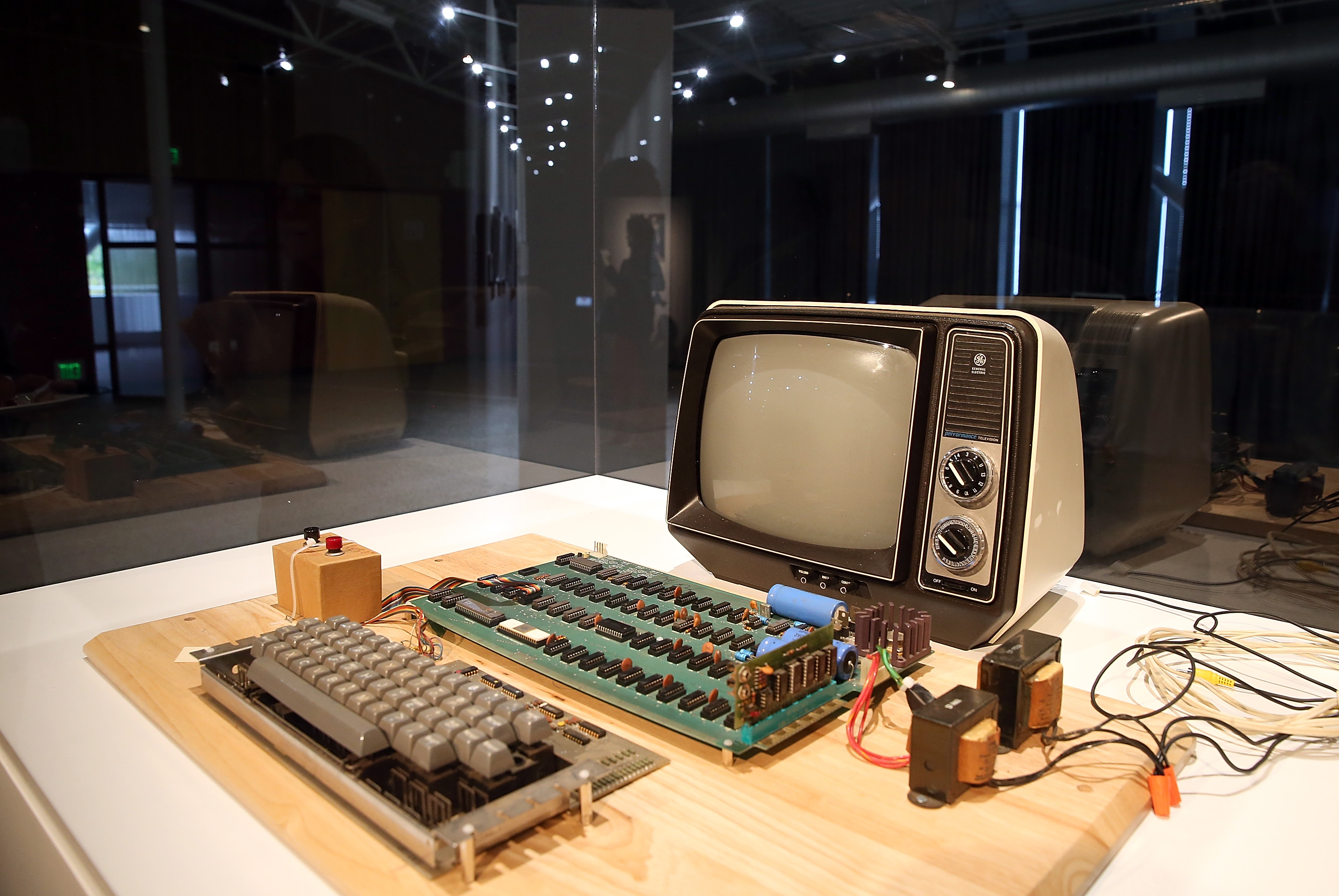 A working Apple-1