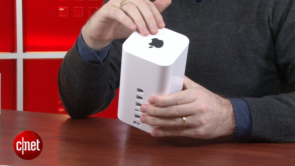 Video: Apple's newest Airport and Time Capsule
