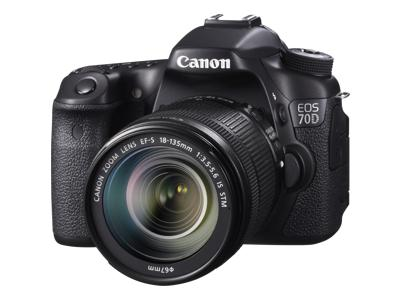 Canon EOS 70D (with 18-135mm STM and 70-300mm USM lenses)