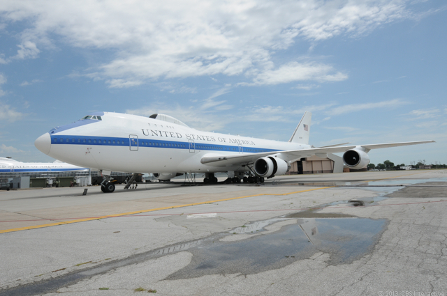 "OFFUTT AIR FORCE BASE, Neb.--If America ever found itself in a nuclear crisis, it's a sure bet that its senior military leaders would climb aboard this Boeing 747-200, or one of three identical to it, in order to conduct operations safely from the skies.  </p><p> Known as the National Airborne Operations Center -- or, colloquially, the <a href=""http://news.cnet.com/2300-13576_3-10017624.html"">Doomsday Plane</a> -- this was one of the two dozen stops that CNET reporter Daniel Terdiman made during <a href=""http://news.cnet.com/road-trip/"">Road Trip 2013</a>. </p><p> Over the course of five weeks -- and about 5,200 miles -- Terdiman criss-crossed the U.S. Midwest, visiting Illinois, Ohio, Michigan, Indiana, Nebraska, Wisconsin, Missouri, and passing through Iowa."