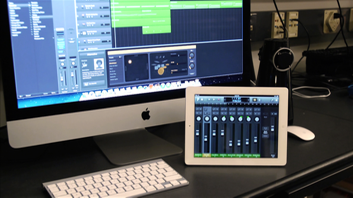 Video: Logic Pro X controls your Mac music studio via iPad
