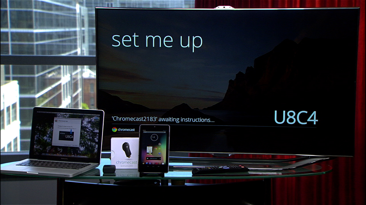 Video: Set up the Google Chromecast