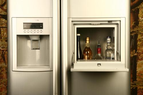 Combo fridge-bar