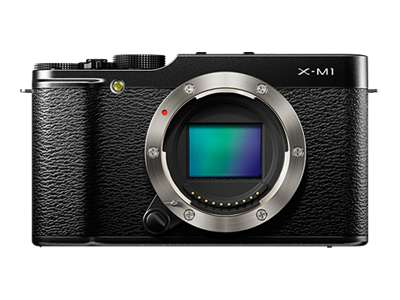 Fujifilm X-M1 (Body Only, Black)
