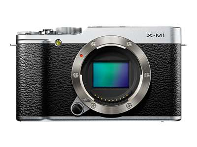 Fujifilm X-M1 (Body Only, Silver)