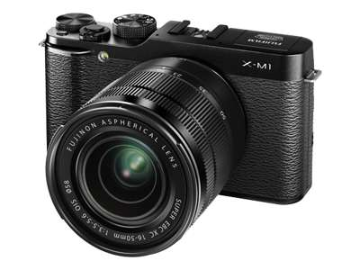 Fujifilm X-M1 (with 16-50mm lens, Black)