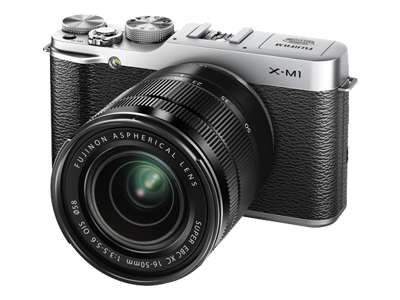 Fujifilm X-M1 (with 16-50mm lens, Silver)