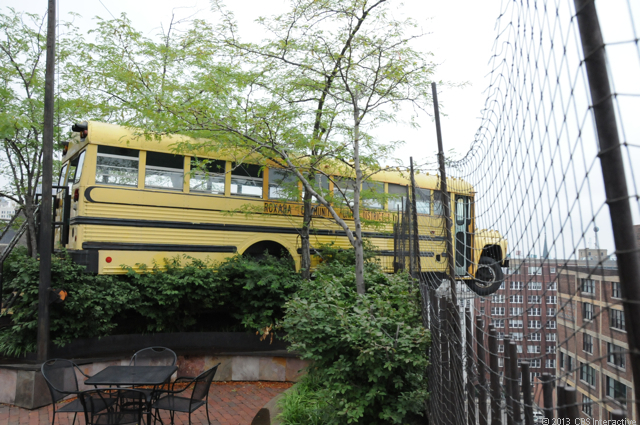 ST. LOUIS -- It's a rare museum that has a school bus hanging off the roof, let alone a bus that kids can climb on. But at the City Museum here, that's just one small piece of the fun. </p><p> Hardly the kind of institution that would normally be called a museum, City Museum presents visitors with a cacophony of exciting choices: tunnels to climb through, 10-story slides to shoot down, a chance to sit on the world's largest pencil, and so much more. </p><p> An ever-changing funhouse that was the brainchild of artist Bob Cassilly, City Museum now draws thousands of people every day who know that a visit means an adventure that will never be the same twice. As part of Road Trip 2013, CNET reporter Daniel Terdiman took a trip to City Museum at the behest of friends in California and in St. Louis, and of several readers. And though he had no idea what he was getting into, he has no regrets. And even days later, he's still smiling.