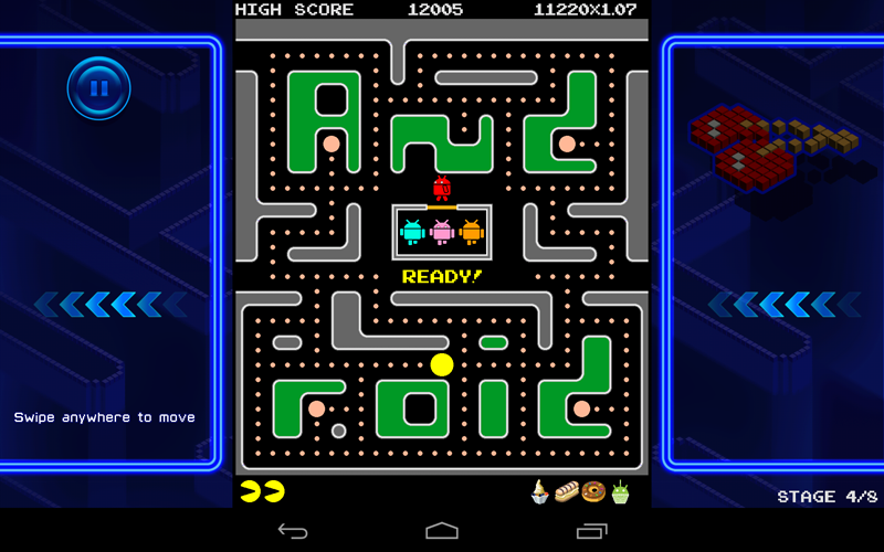 Pac-Man + Tournaments with Androids