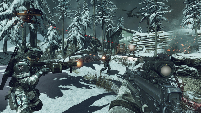 Call of Duty: Ghosts for the PS4