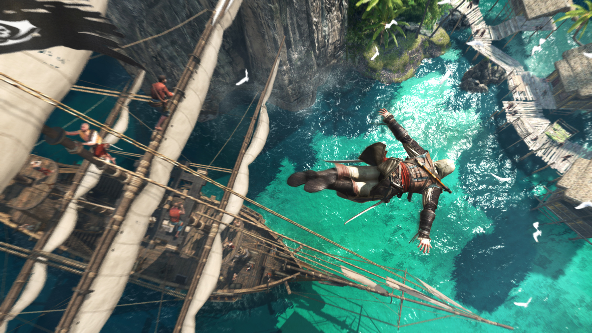 Assassin's Creed IV: Black Flag for the PS4